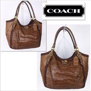 Coach Madison Spectator Abigail Shoulder Bag